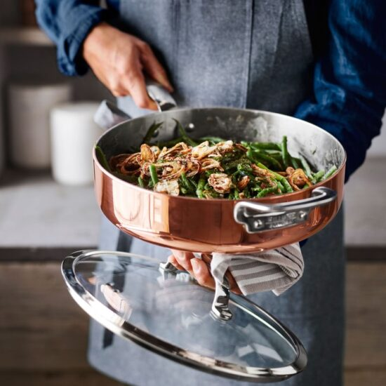 Williams Sonoma Professional Copper Sauté Pan