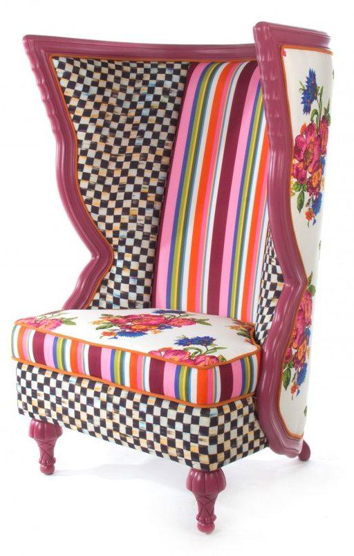 MacKenzie-Childs-Flower-Chair