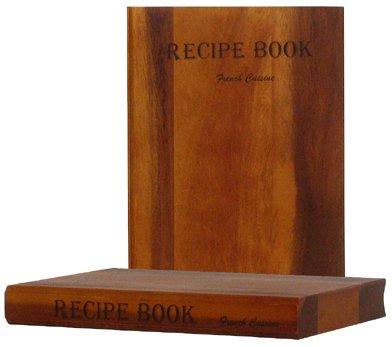 recipe book cutting board