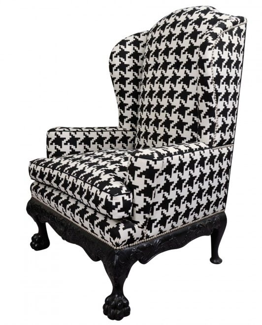 houndstooth-wing-chair