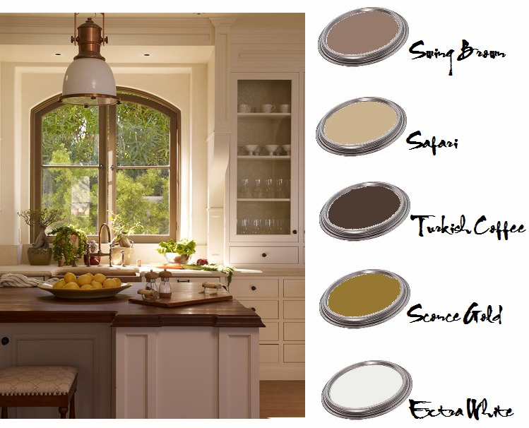 Color me inspired choosing paint colors places in the home for Choosing kitchen paint colors