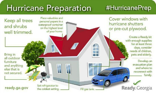 Prepare your home for hurricanes. Find out more at ready.gov/hurricanes.