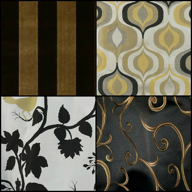 Black and gold home decor places in the home - Gold home decor ...