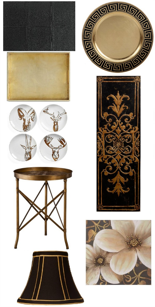 Saintsational black and gold home decor places in the home for House decor accessories
