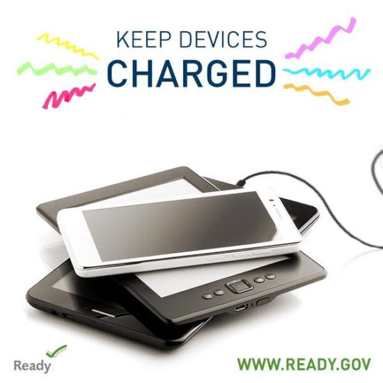 devices charges