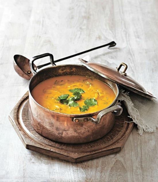 carrot-cilantro-soup