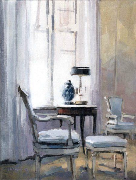 Blue Chairs by David Lloyd
