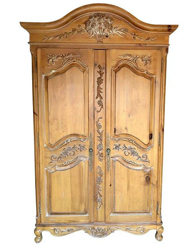 Ethan Allen Legacy Huge French Armoire