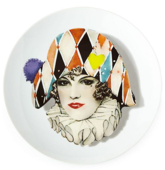 harlequin-plate