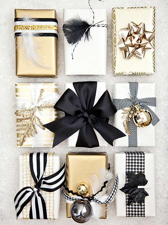 black-and-gold-wrapped-gifts