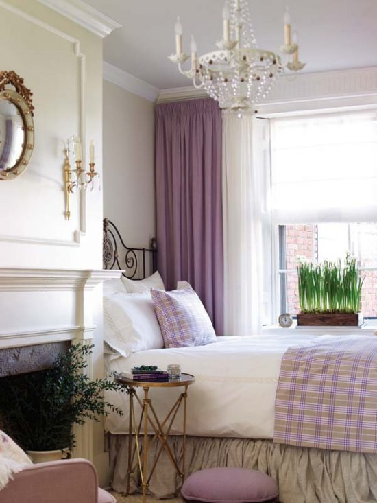 purple-and-white-bedroom