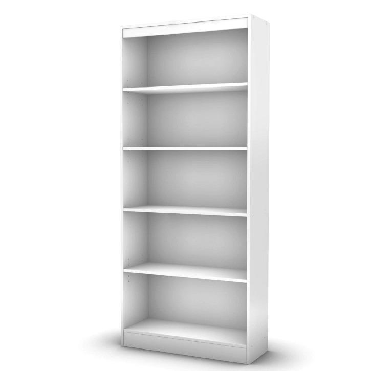White Wood Shelves : From Prefab to Post Fab: Customizing Prefabricated Bookcases