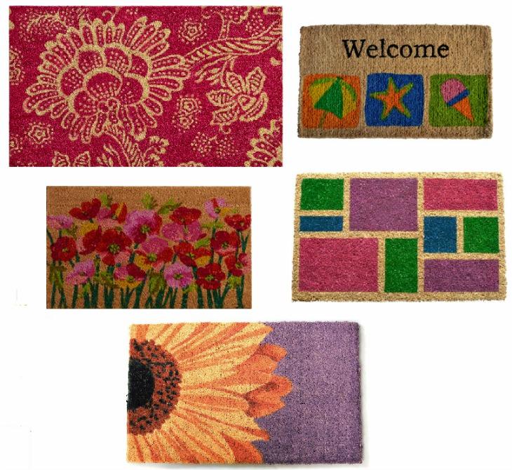 decorative door mats