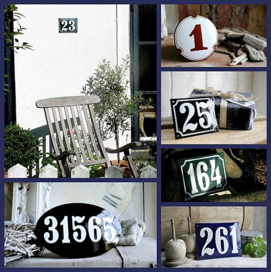 RAMSIGN house number giveaway