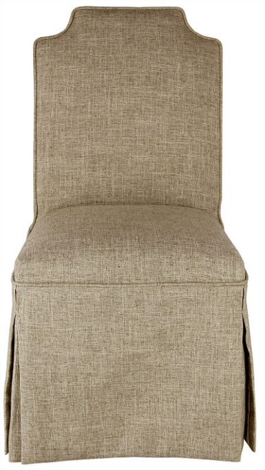 Nate Berkus skirted chair