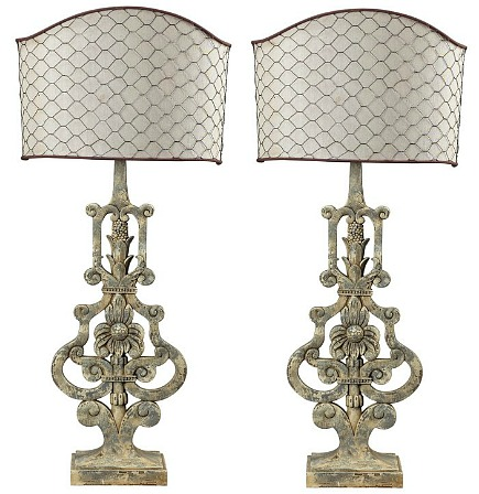 Country-French-table-lamp