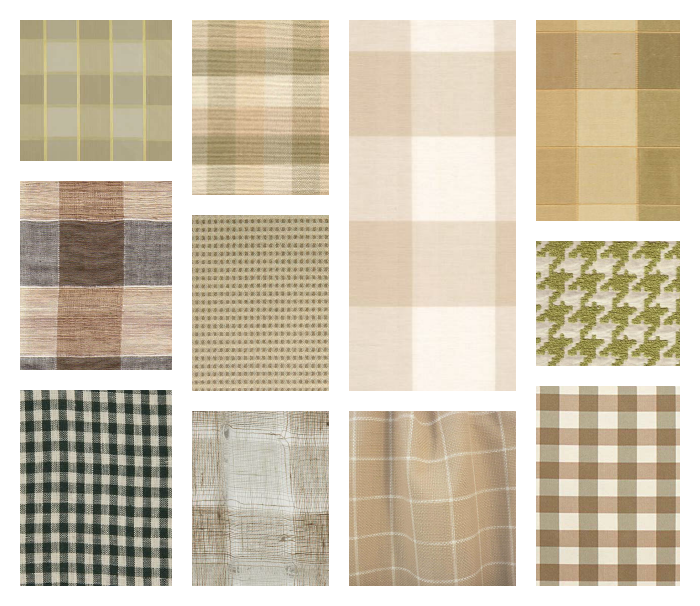 Check It Out Check Patterned Fabric Places In The Home : check fabric from placesinthehome.com size 700 x 606 png 558kB