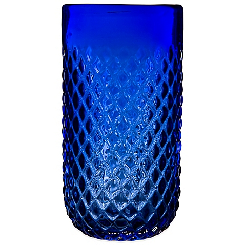 cobalt-blue-diamond-cut-drinkware