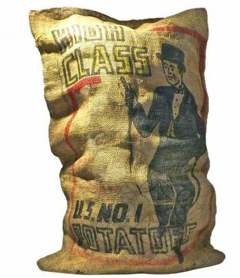 vintage potato sack