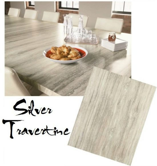 Formica Travertine silver granite