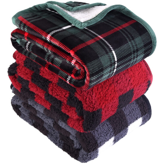 Better Homes & Gardens Sherpa Throw Blanket