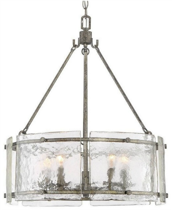 Luxury Industrial Chandelier with Rustic Style