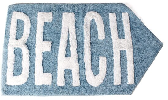 Mainstays Catching Rays Tufted Cotton Washable Bath Rug