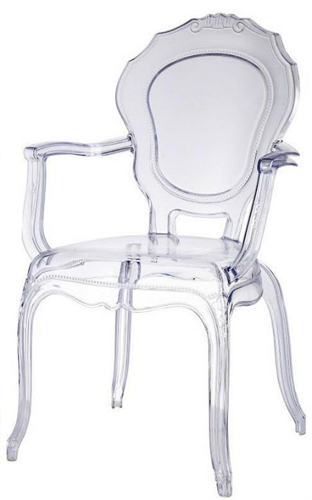 Modern Belle Ghost armchair