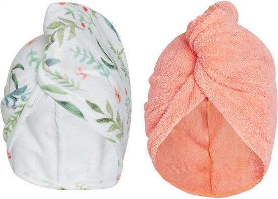Turbie Twist Microfiber Hair Towel Twin Pack