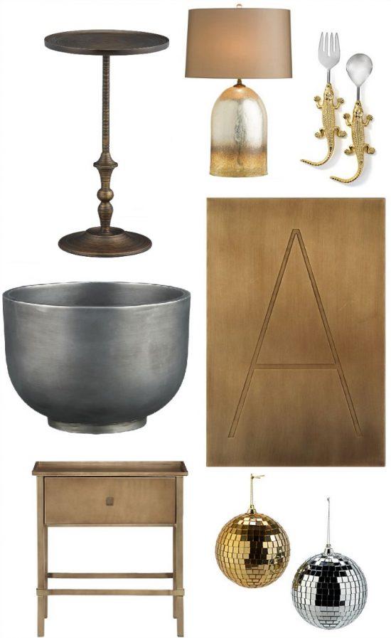 metal home decor accessories