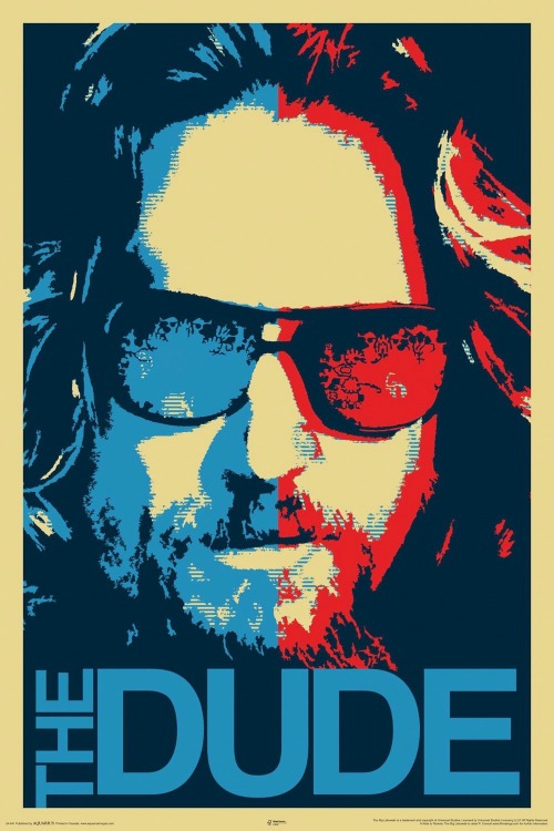 Big Lebowski Dude Decorative Poster