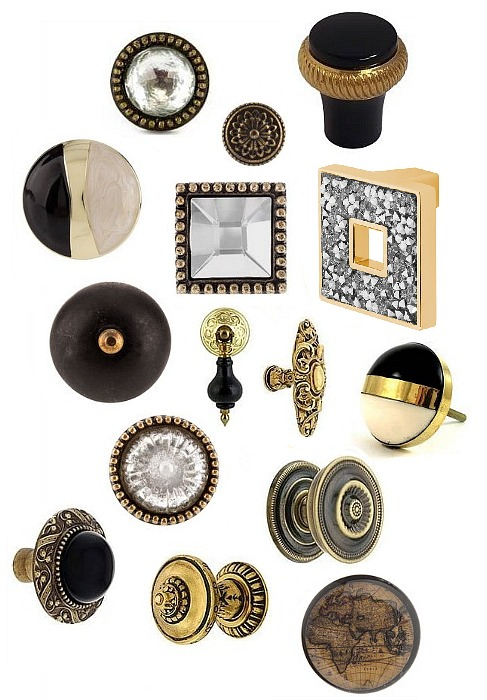 black-gold-cabinet-hardware