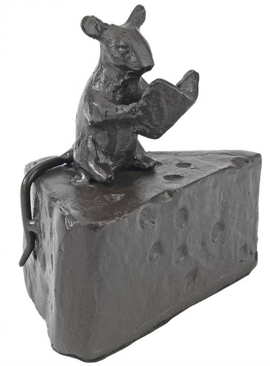 Halloween-Mouse-Cast-Iron-Statue