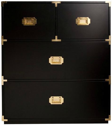 Loren+Black+4+Drawer+Chest