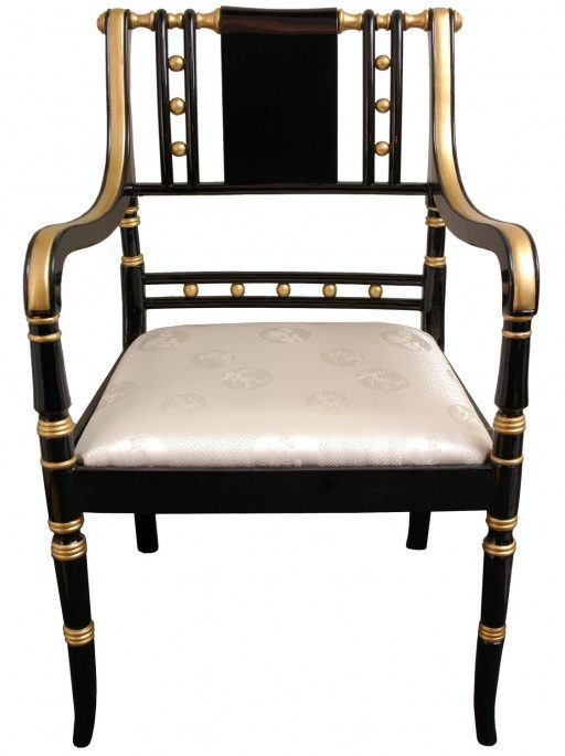 Oriental-Furniture-Regency-Fabric-Arm-Chair