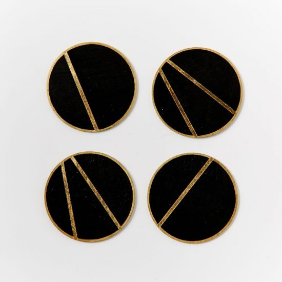 black-gold-coasters