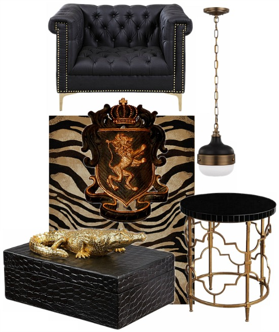 black-gold-decor
