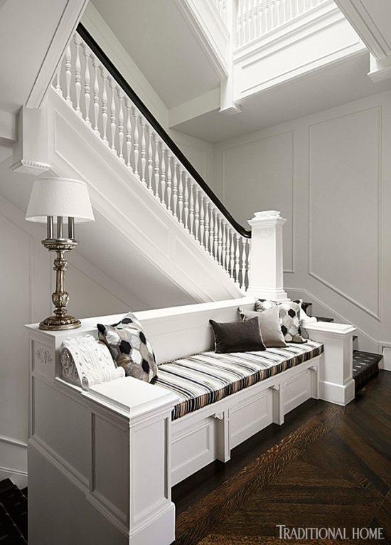 black-white-bench