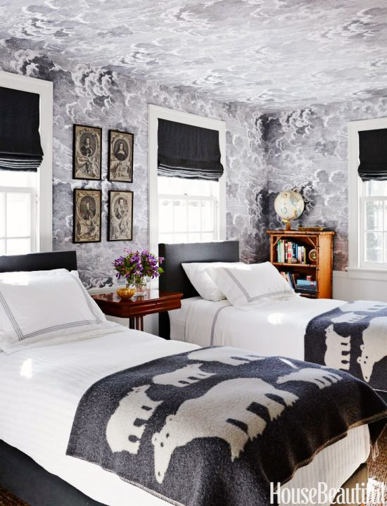 black-white-wallpaper-bedroom