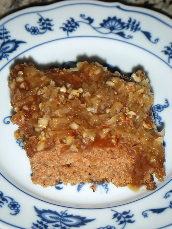 must love cinnamon oatmeal cake