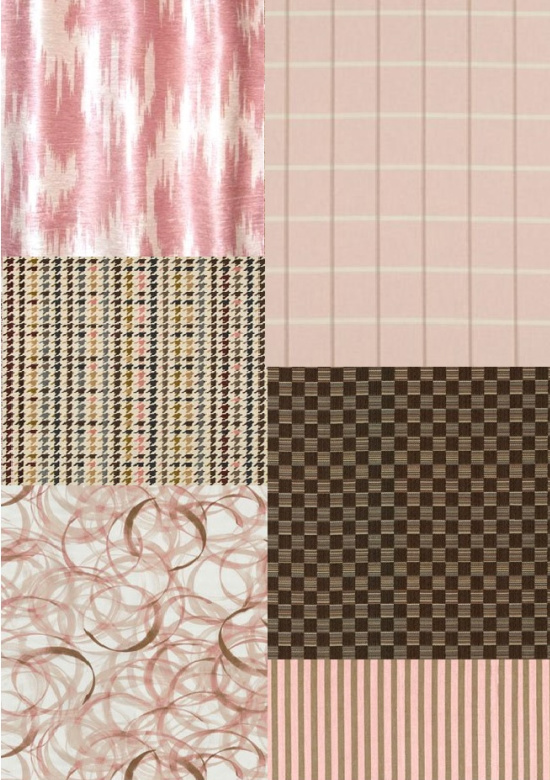 pink-brown-fabric