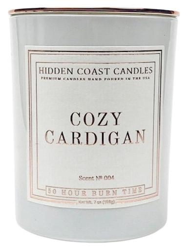 cozy cardigan candle