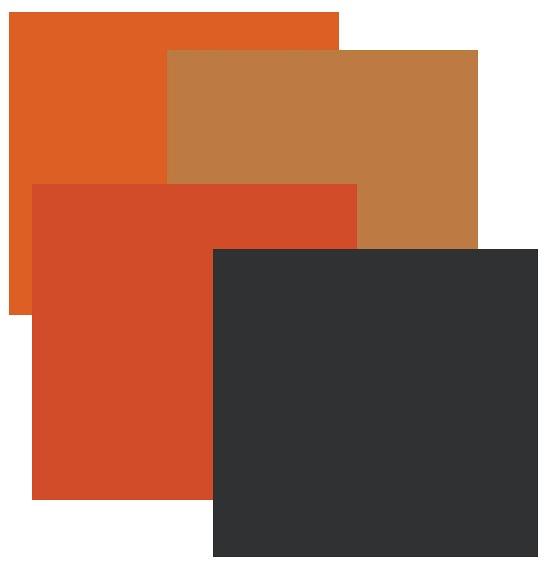orange-and-black-paint-colors
