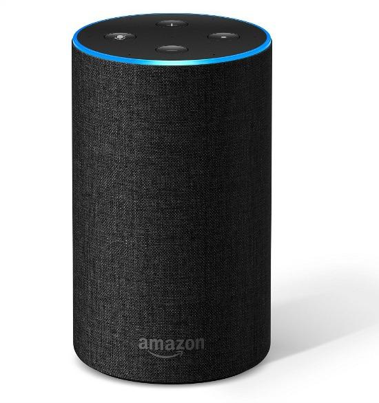 Amazon Echo (2nd Generation) Alexa-enabled Bluetooth Speaker