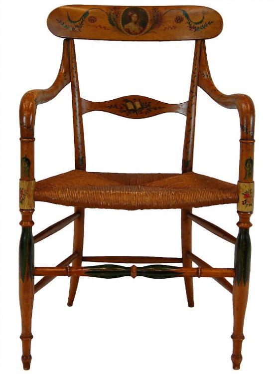 Italian painted chair