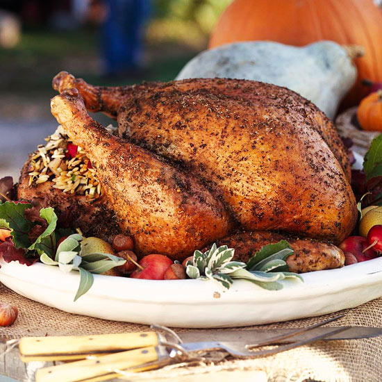 Thanksgiving-turkey-pear-stuffing