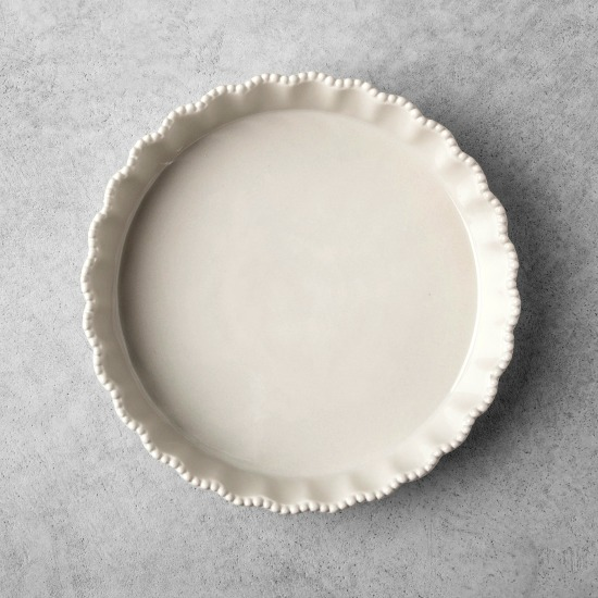 Stoneware Quiche Dish - Cream - Hearth & Hand™ with Magnolia