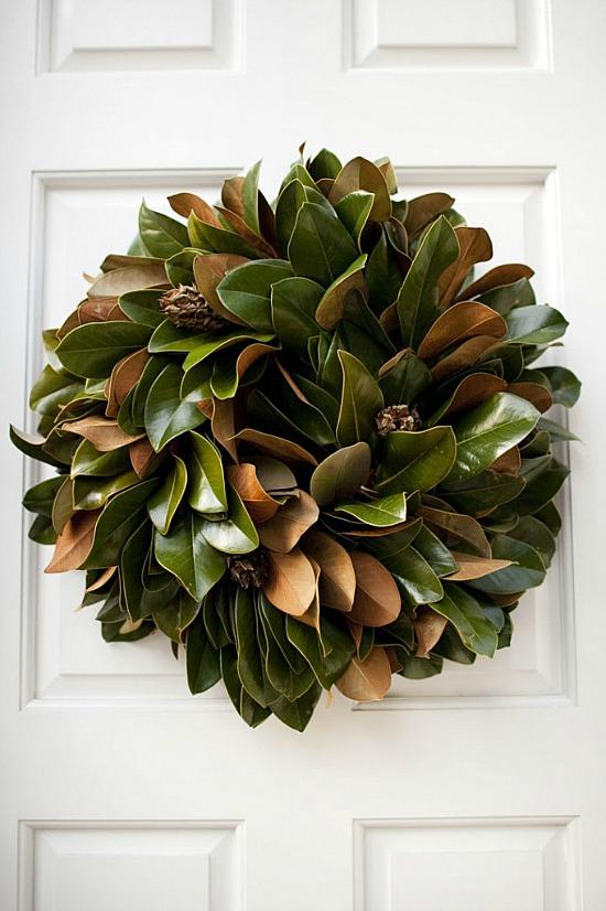 magnolia-wreath-on-door
