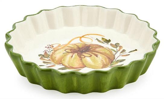 scalloped pie plate