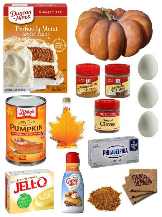 pumpkin-spice-cake-ingredients